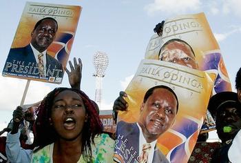 Odinga posters