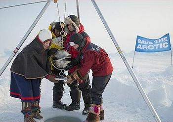 Greenpeace, North Pole