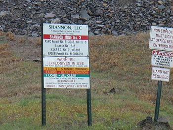 mine signs