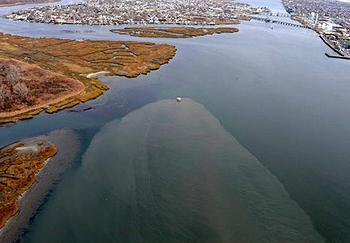 sewage overflow