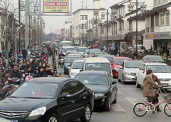 traffic China