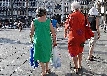 shoppers, Venice
