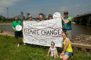 climate demonstration