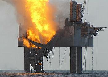 burning rig