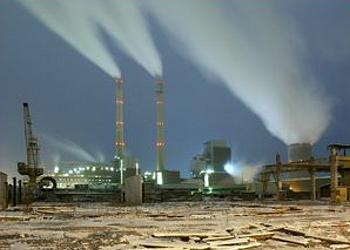 powper plant emissions