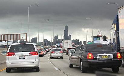 Rush Hour Chicago (Photo by Wendy Britton)