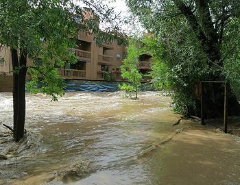 Boulder flood