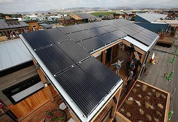 Ontario solar house