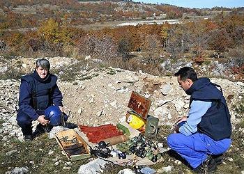 Deminers Bosnia