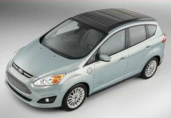 Ford C-Max Energi solar (Photo courtesy Ford)