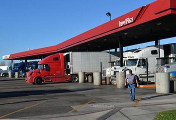 trucks stop