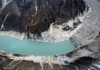 glacier Nepal