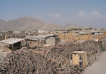 wood Kabul