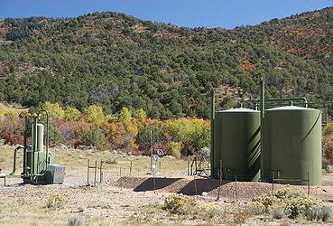 methane well
