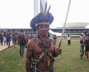 Munduruku warrior