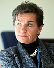 Christiana Figueres of Costa Rica is executive secretary of the UNFCCC. Geneva, Feb. 12, 2015 (Photo courtesy Earth Negotiations Bulletin)