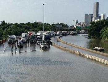 flooded highway
