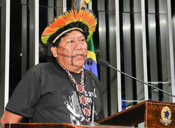 Yanomami leader