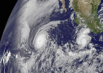 Pacific hurricanes
