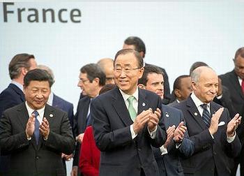 Ban, Xi, Fabius