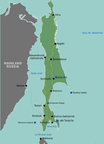 Russian Tanker Spills Oil Near Sakhalin Island | ENS
