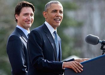 Trudeau, Obama