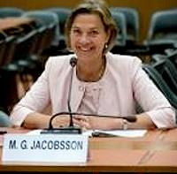 Ambassador Marie Jacobssen (Photo courtesy Environmental Peacebuilding)