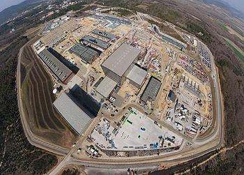 Nuclear Fusion Reactor in France 55 Percent Complete thumbnail