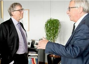 Gates, Juncker