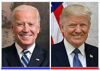 Biden, Trump