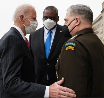 Biden, Austin, Milley