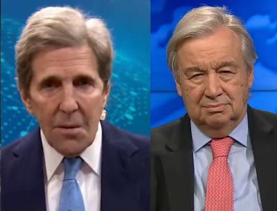 Kerry, Guterres
